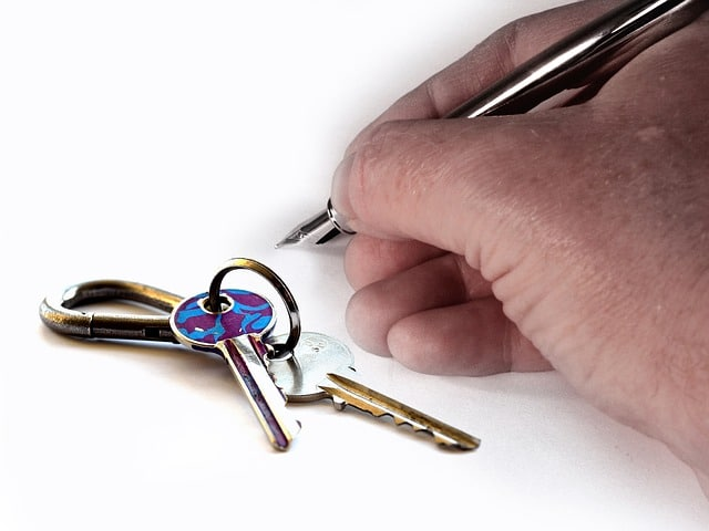 Photo: Insurance to Rent Out House - Photo of Keys and Lease